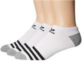 adidas Originals Roller No Show Sock 3-Pack Men's No Show Socks Shoes
