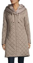 T Tahari Diamond Quilted Coat