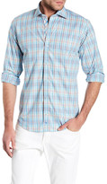 Tailorbyrd Long Sleeve Print Trim Fit Woven Shirt