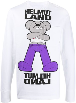 Helmut Lang Mascot long-sleeved pocket T-shirt