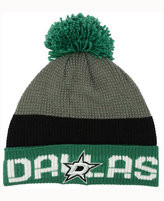 Reebok Dallas Stars Pom Knit Hat