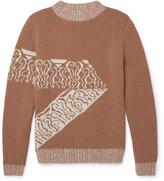 A.p.c. - Jacquard-knit Wool Sweater