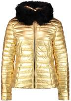 Hunter METALLIC Down jacket gold