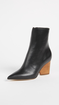 Paul Andrew Tivoli Wood Heel Booties