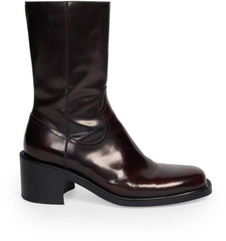 Dries Van Noten Heeled Leather Boots