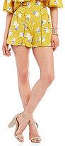 J.o.a. Printed Floral Shorts