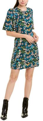 Maje Floral Shift Dress
