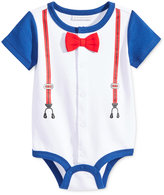 First Impressions Baby Boys' Suspenders Creeper, Only at Macy's