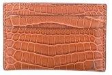 Louis Vuitton 2016 Crocodile Card Holder