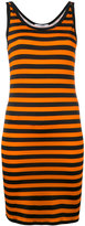 Givenchy striped stretch jersey dress - women - Spandex/Elastane/Viscose - 36
