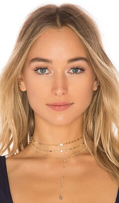 Ettika Forever Star Fall Choker Set