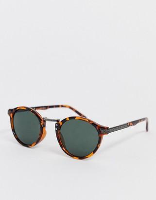 ASOS DESIGN vintage round lens sunglasses