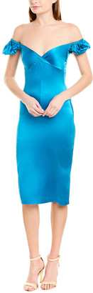 Alexis Silk-Blend Sheath Dress