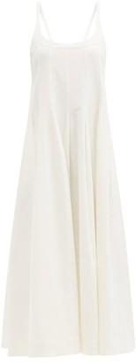 Jil Sander Panelled Flared Dress - Ivory