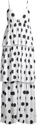 Mara Hoffman Bari Dotted Cover-Up Dress