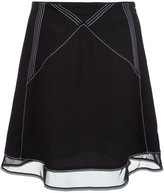 J.W.Anderson stitching details skirt - women - Polyester - 6