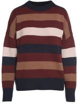 360 Sweater Laura Striped-cashmere Sweater