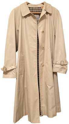 Aquascutum London Beige Cotton Trench coats