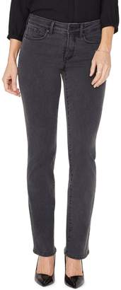 NYDJ Marilyn Boho Studded Pocket Straight-Fit Jeans