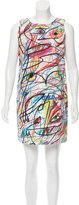 Jeremy Scott Printed Shift Dress w/ Tags
