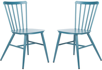 Safavieh Chester Side Chair/Stackable/Matte Navy Blue