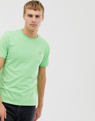 Polo Ralph Lauren crew neck t-shirt in lime green
