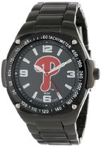 Game Time Unisex MLB-WAR-PHI Warrior Philadelphia Phillies Analog 3-Hand Watch