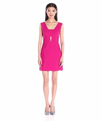 Nicole Miller Women's Stretchy Tech V NK Bandeau Dress