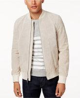 Tommy Hilfiger Men's Perforated Suede Jacket