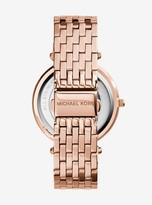 Michael Kors Darci Pave Rose Gold-Tone Watch