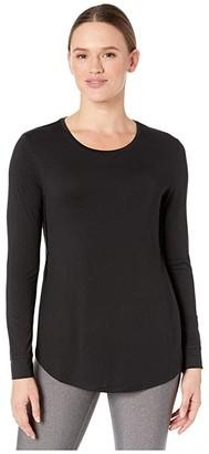 tasc Performance Jenny Long Sleeve T-Shirt (Black) Women's Clothing
