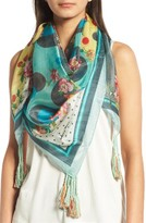 Johnny Was Women's Freemont Square Silk Scarf