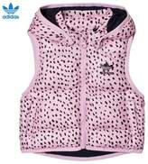 adidas Pink Spotted Padded Gilet