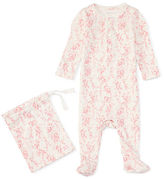 Ralph Lauren Floral Cotton Sleep Coverall