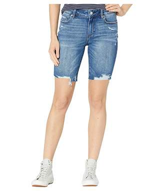 Paige Jax Cut Off Shorts in Alvarado Destructed