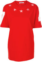 Givenchy cut out star detail T-shirt