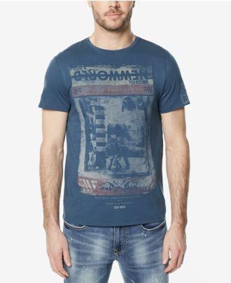 Buffalo David Bitton Men's Tadial Graphic-Print T-Shirt
