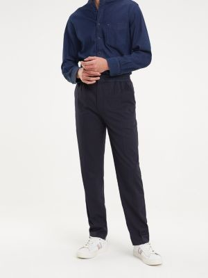 Tommy Hilfiger Pinstripe Jogger Trousers