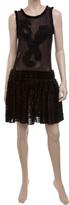 Mixed Mesh Lace Dress