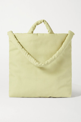 Kassl Editions Padded Canvas Tote - Green
