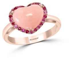 Effy Multi-Gemstone (2 3/8 ct.t.w.) Heart Ring in 14K Rose Gold