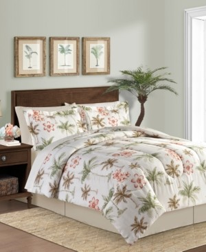 Fairfield Square Collection Palm Breeze 8-Pc. King Comforter Set Bedding