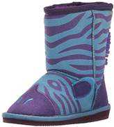 Muk Luks Kids' Animal Blue Zebra Pull-On Boot
