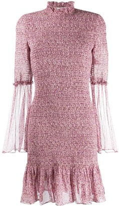 Stella McCartney ruched floral dress