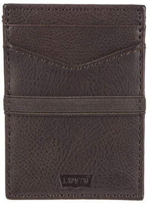 Levi's Men Rfid Slim Front Pocket Card Case