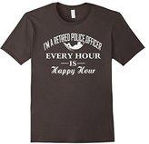 Police Retired Officer Shirt Tee T-shirt
