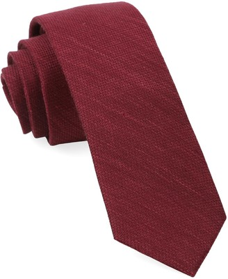 BHLDN BhldnThe Tie Bar Black Cherry Festival Textured Solid Tie