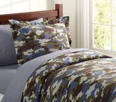 Pottery Barn Kids Camo Duvet Cover
