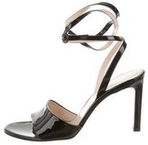 Nina Ricci Patent Leather Ankle Strap Sandals w/ Tags