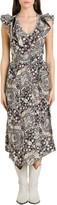 Etoile Isabel Marant Coraline Asymmetric Dress